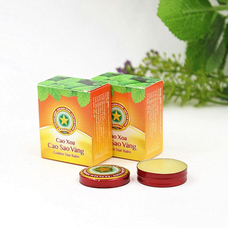 Danapha export Golden Star Balm all over the world