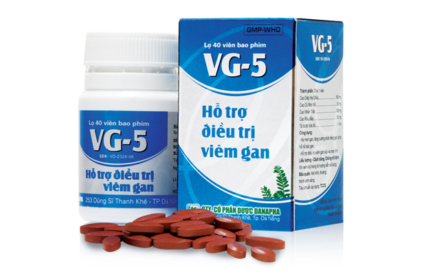 VG5 - Natural solutions supporting hepatitis treatment